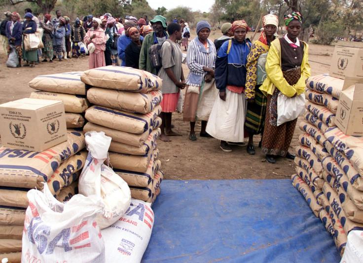 US aid in Zimbabwe