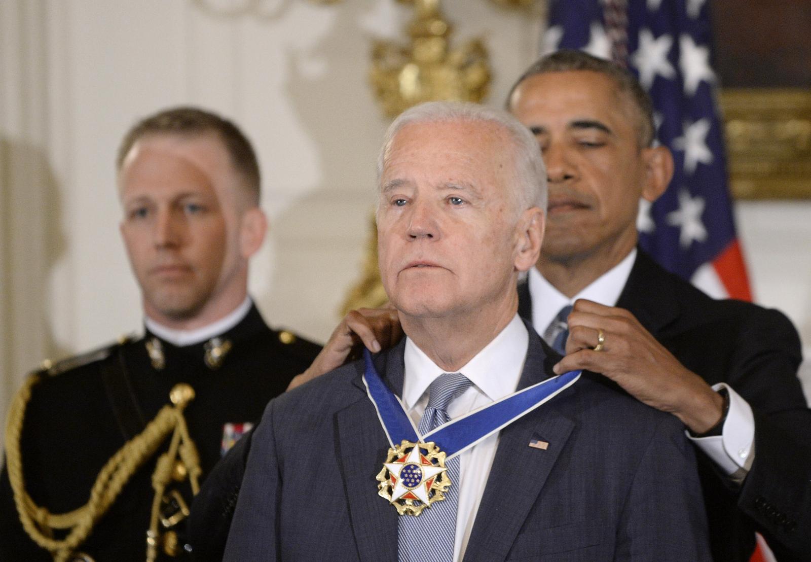 Obama awards Biden the medal of freedom
