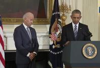 President Obama honours Joe Biden with the Presidential Medal of Freedom