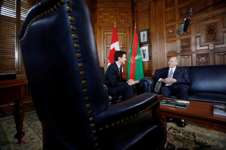 Justin Trudeau, Aga Khan