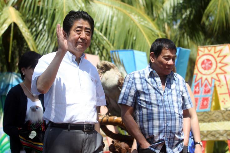 Shinzo Abe Philippines visit