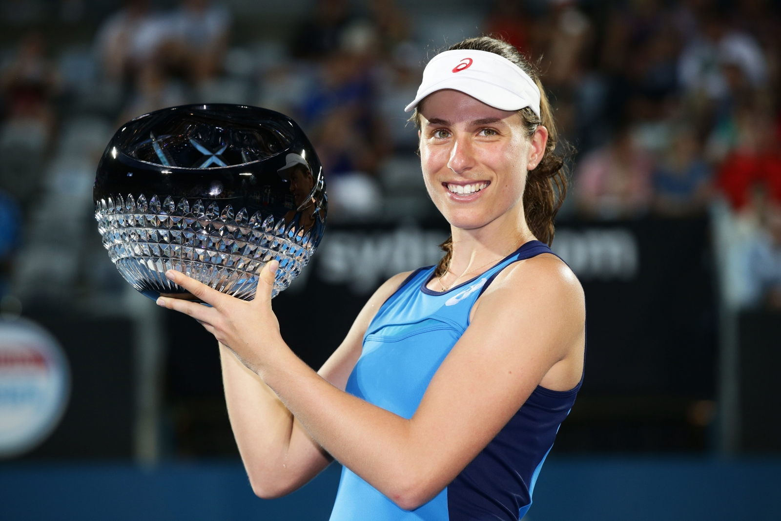 Konta Crushes Radwanska In Sydney Final