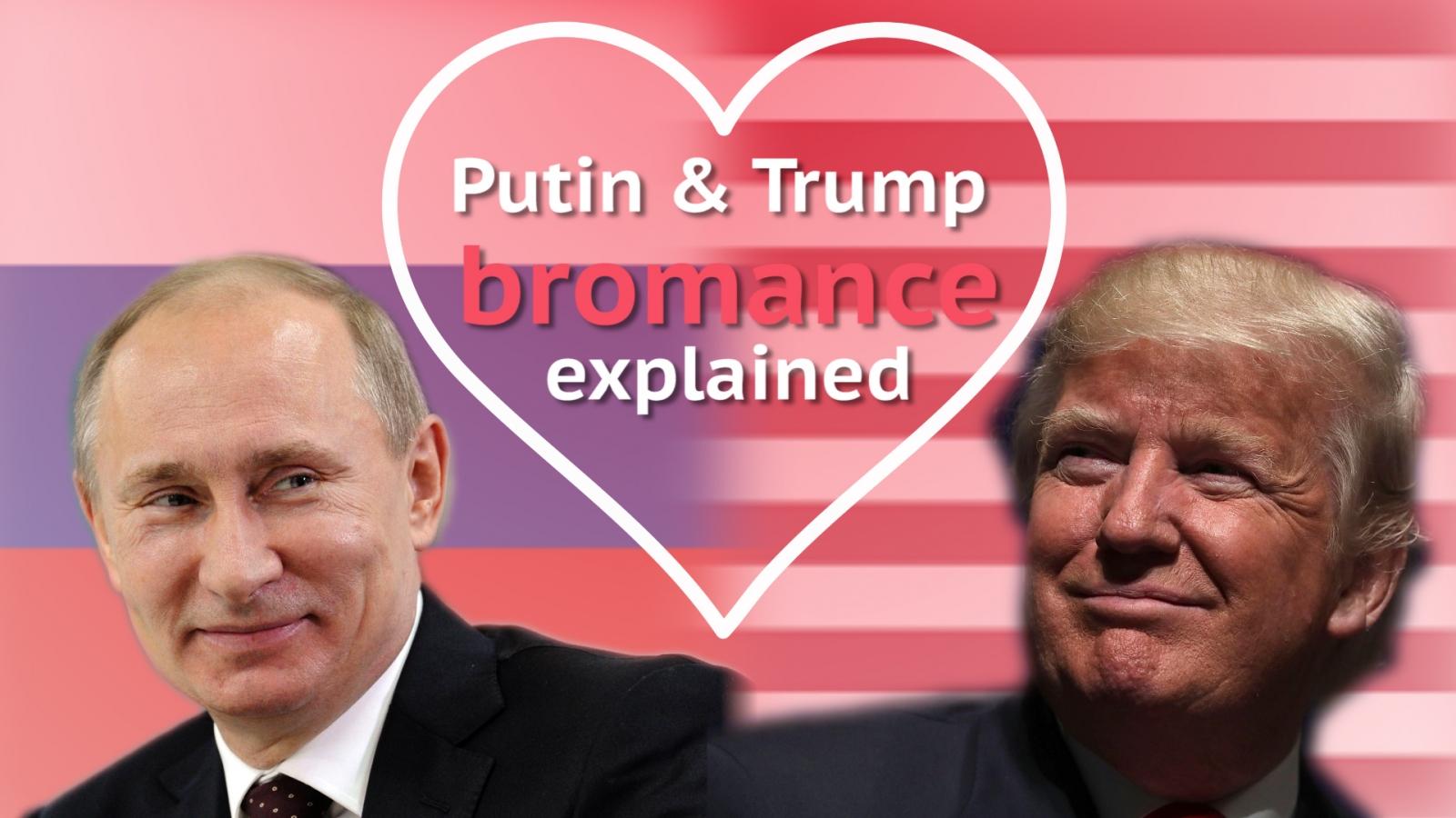 The history of Donald Trump and Vladimir Putin's bromance