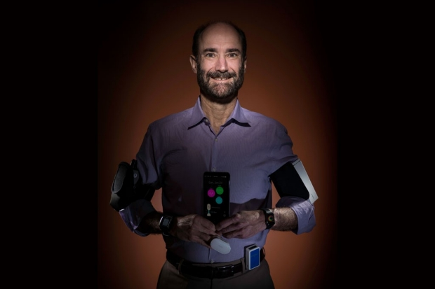 Michael Snyder wearable technology research
