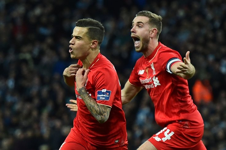Philippe Coutinho and Jordan Henderson