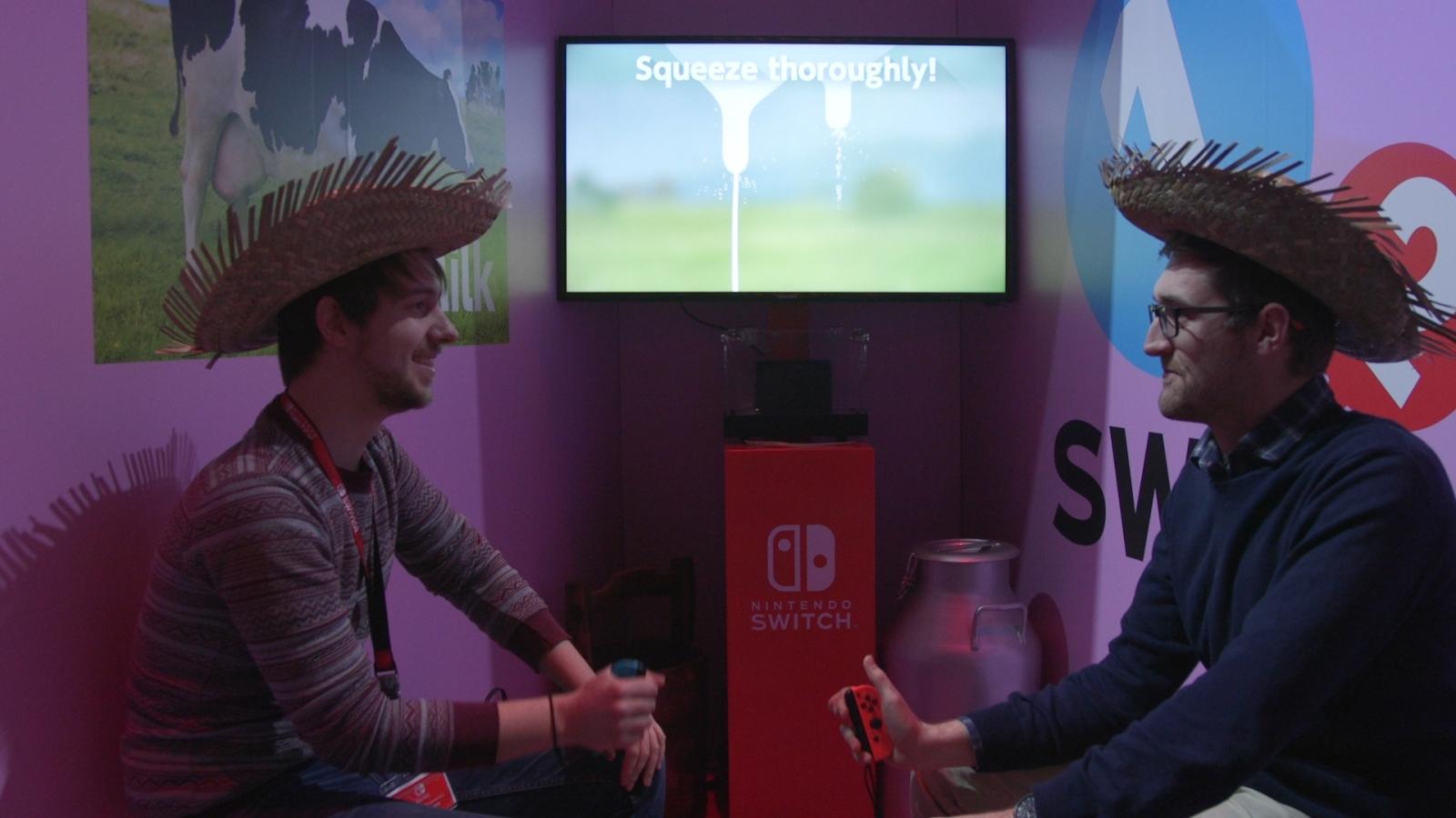 Nintendo Switch Milking 1-2 Switch
