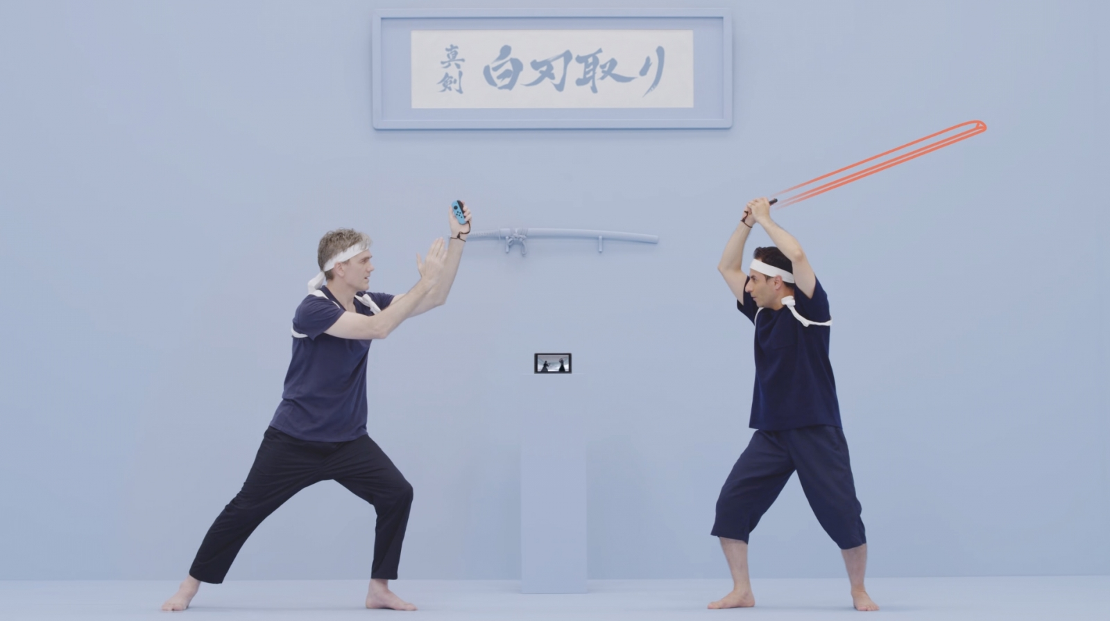 Switch 1-2 samurai sword game