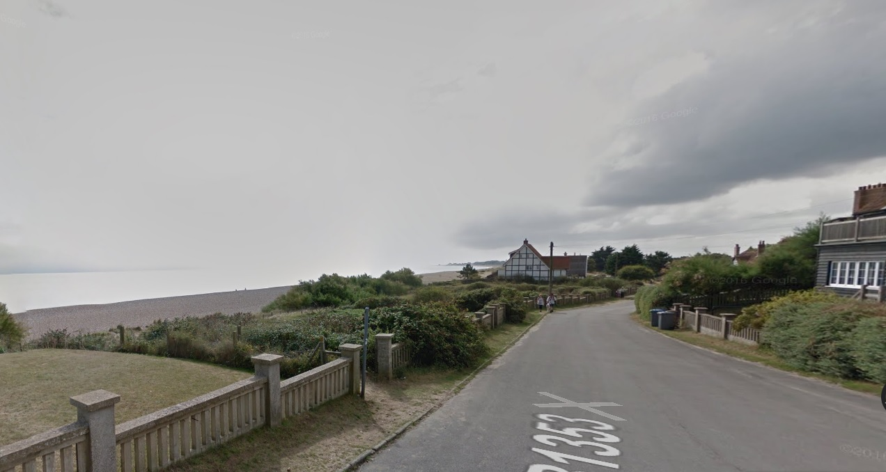 Thorpeness cliff collapse man dead