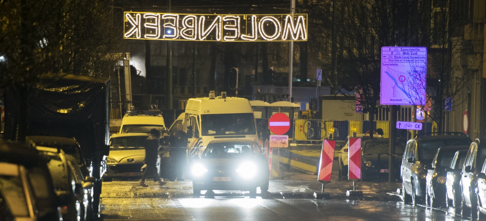Molenbeek counter-terrorism operation