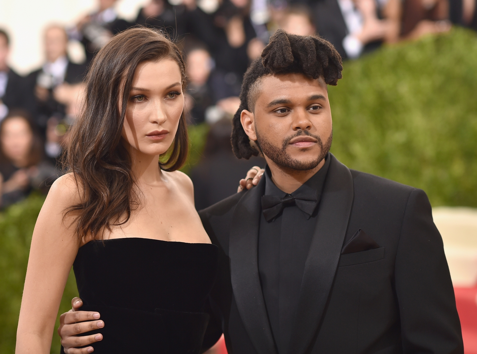 The Weeknd's back in touch with Bella Hadid