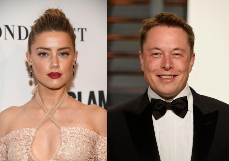 Amber Heard and Elon Musk