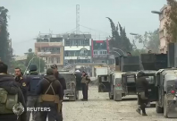 Iraqi forces capture the Mosul University and nearby district