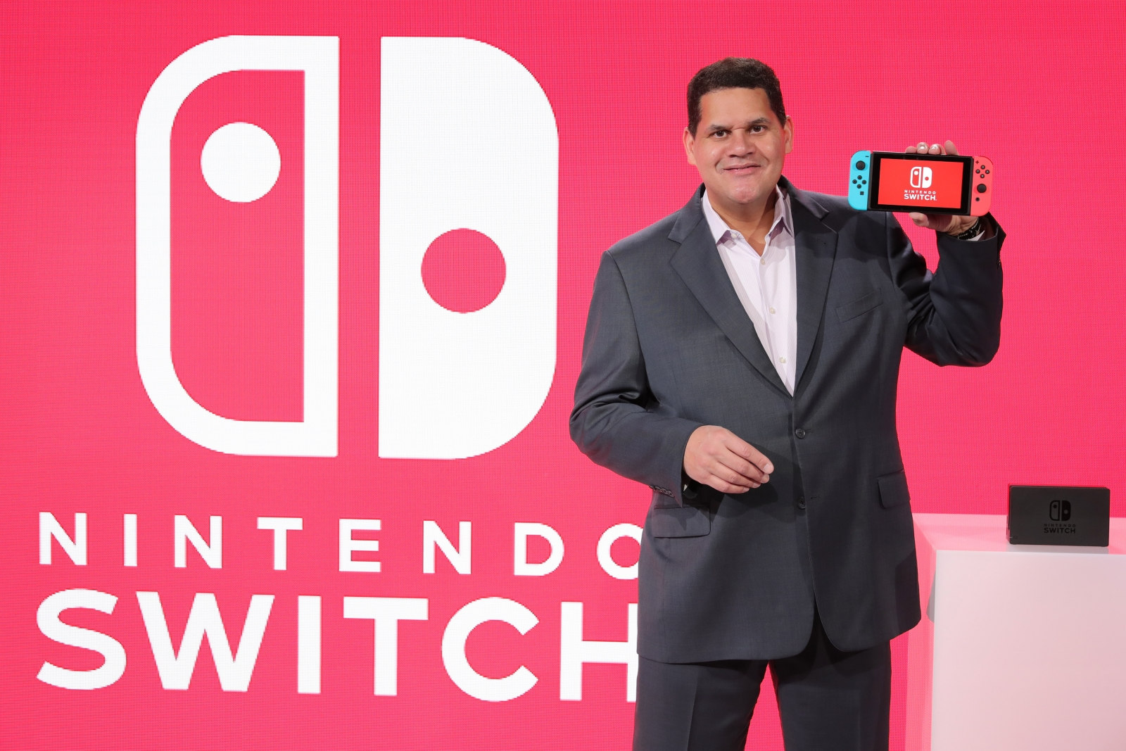 Nintendo Switch Reggie Fils-Aime