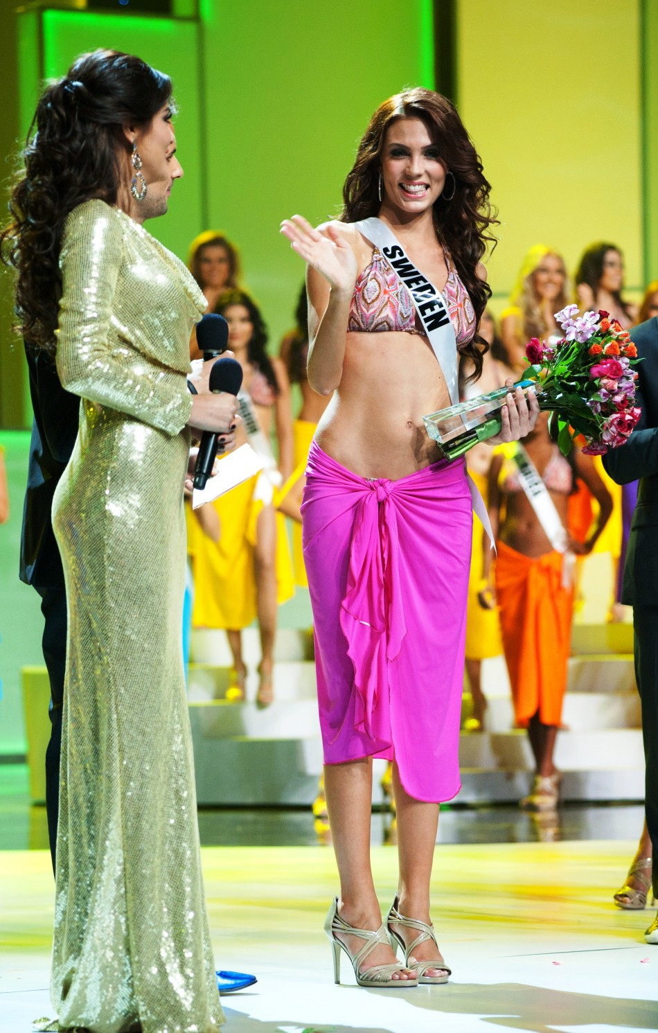Miss Sweden 2011 won the Miss Photogenic award