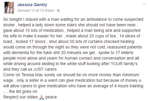 Jessica Gentry FaceBook
