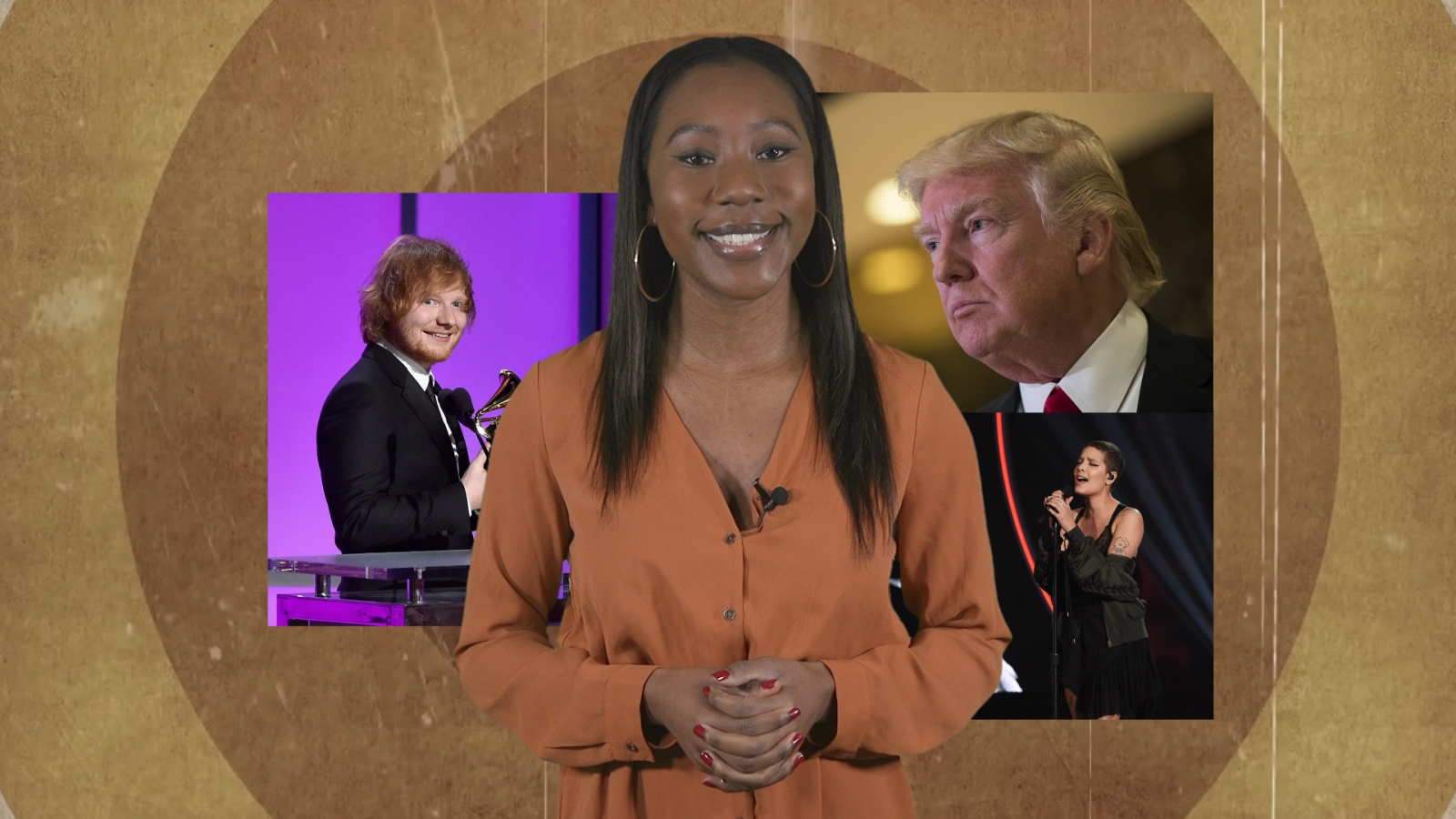 Music Minute: Ed Sheeran makes history, Trump inauguration line-up, 50 Shades Darker soundtrack