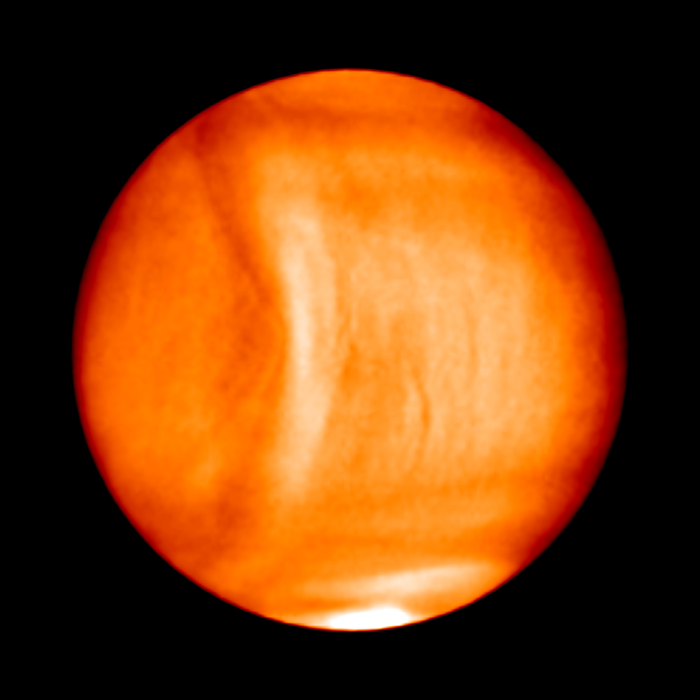 Venus wave may be Solar System's biggest