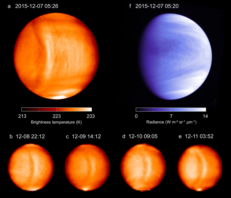 gravity wave venus