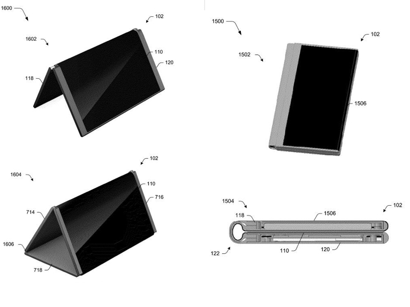 Microsoft folding phone concept