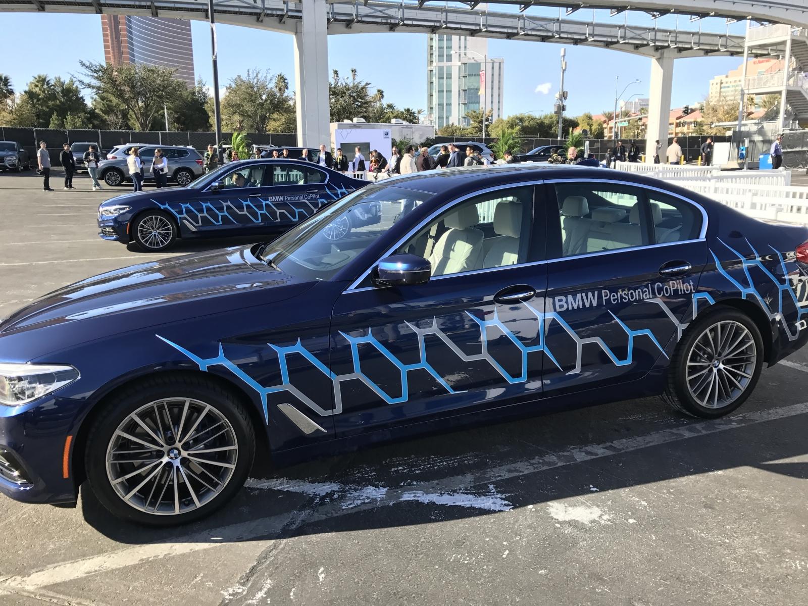 BMW self-driving car