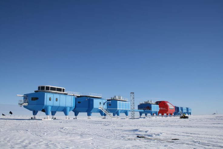 Halley VI Research Station will be relocated to a new site 23 kms upstream