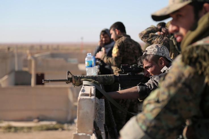 Raqqa SDF operation
