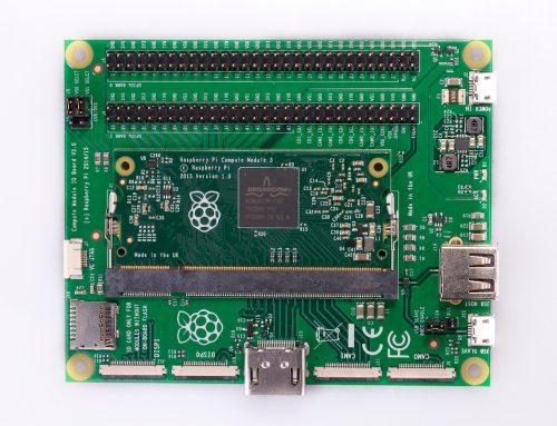 Raspberry Pi compute model 3