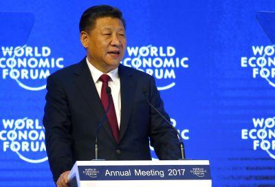 Chinese President Xi  Davos