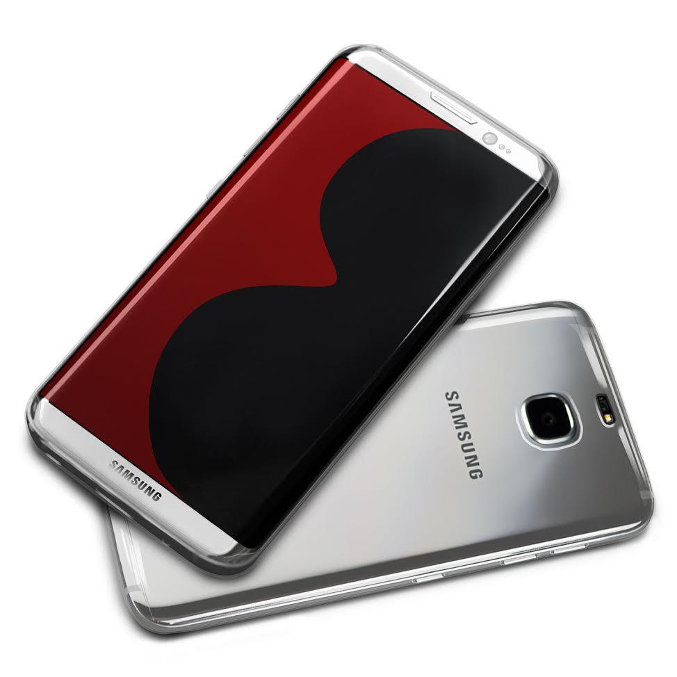 Galaxy S8 case - silver