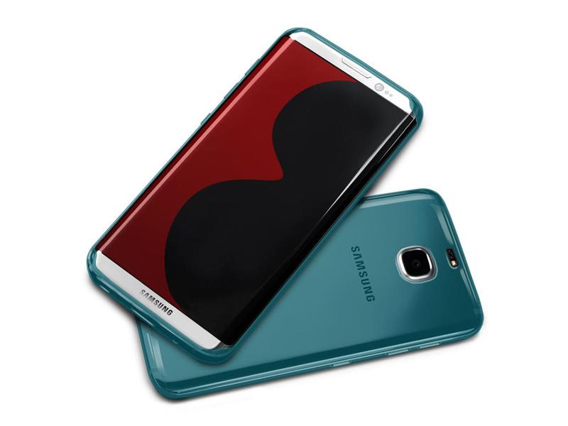 Galaxy S8 case blue