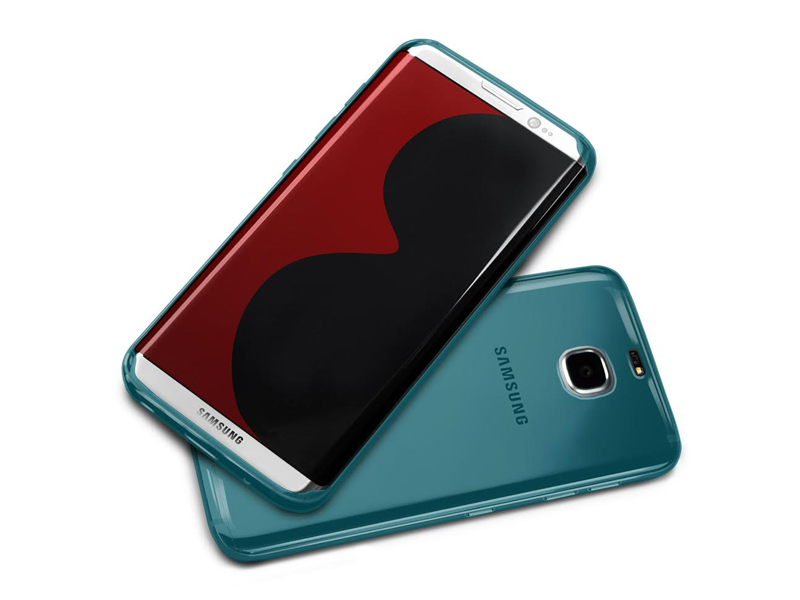 Galaxy S8 case blue