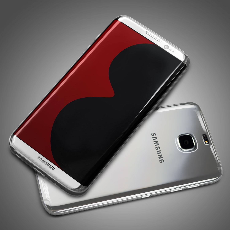 Samsung Galaxy S8 silver case