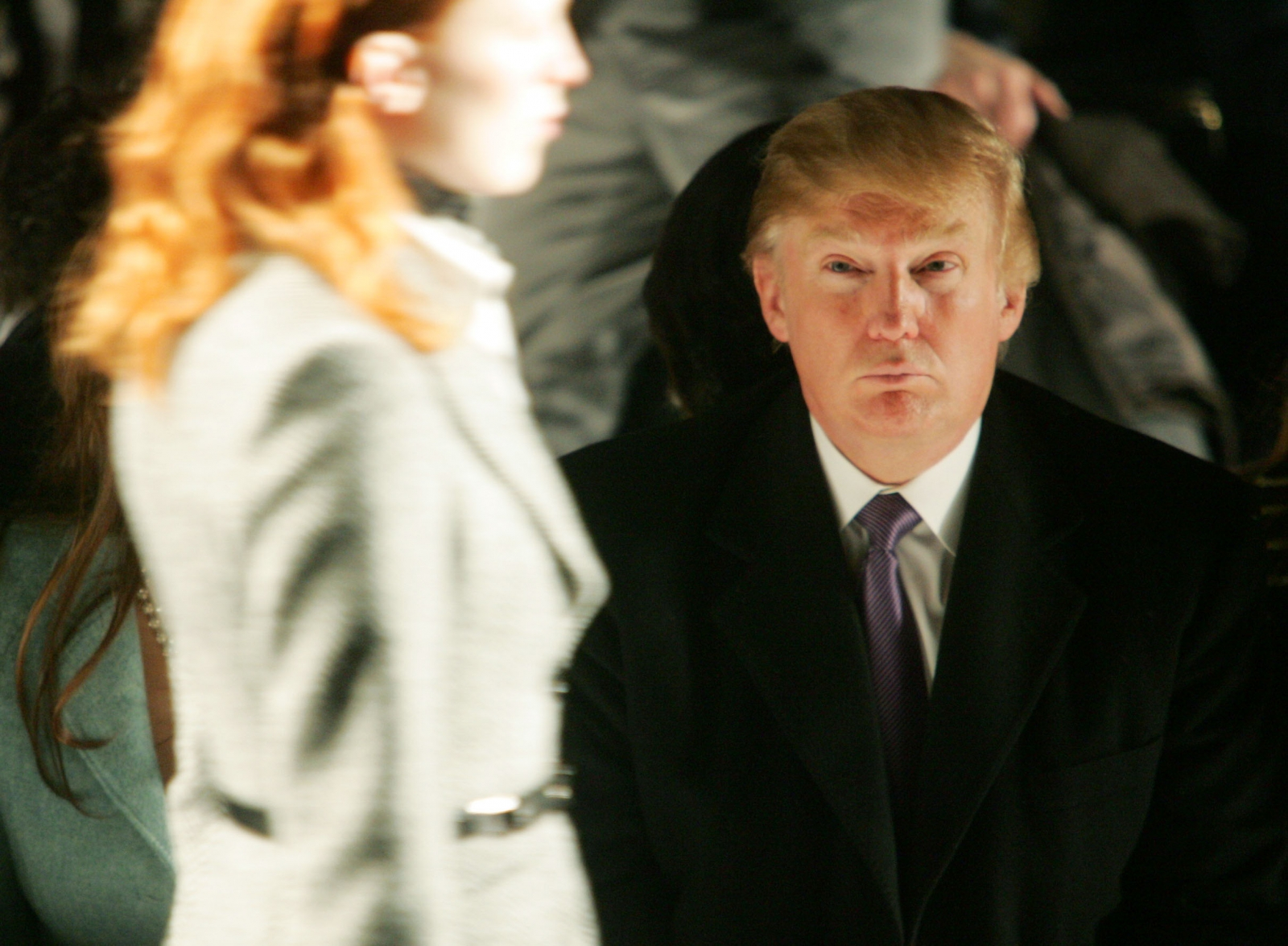 Donald Trump at fashion show