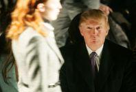 Donald Trump at fashion show