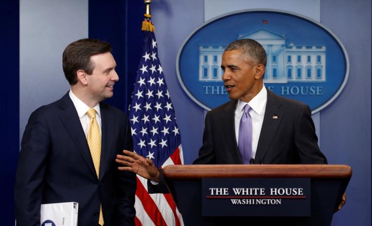 Whitehouse staff say farewell to Obama