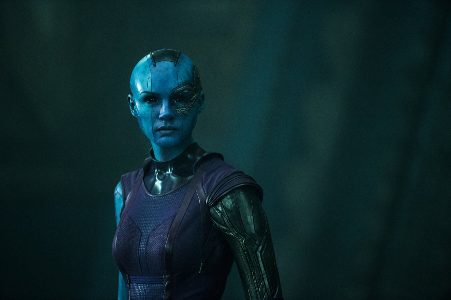Karen Gillan in Guardians Of The Galaxy