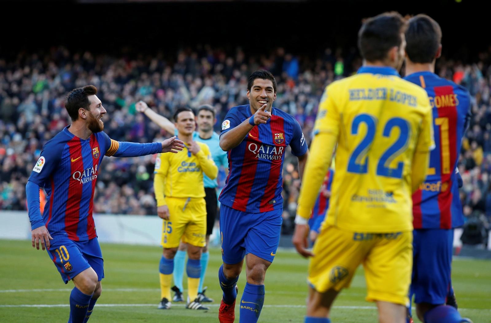 Lionel Messi & Luis Suarez