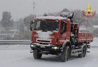 Italy snow