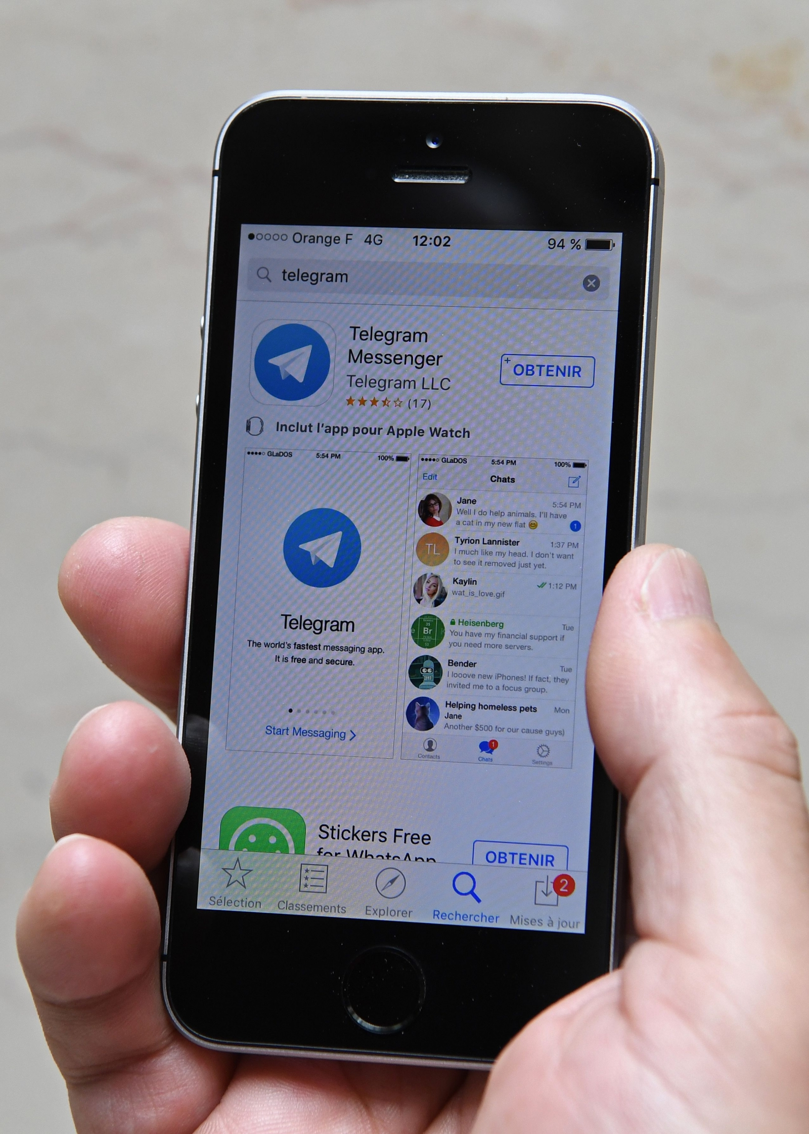 Telegram to get audio calls