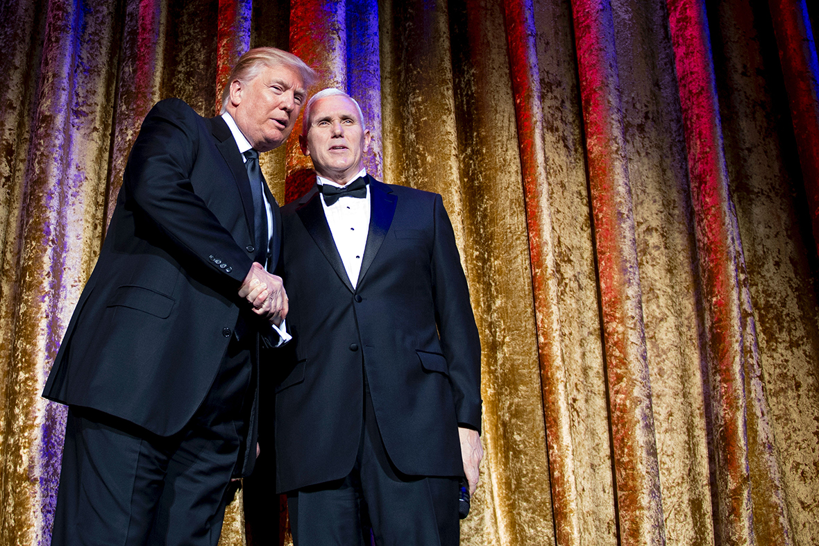 Veep Mike Pence Puts Distance Between Himself And Donald Trump Family