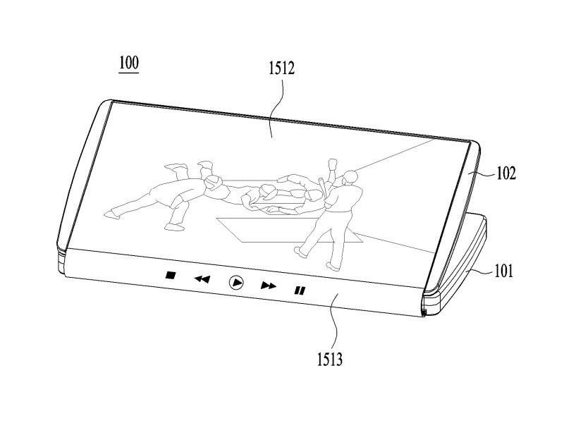 lg patent reveals fold