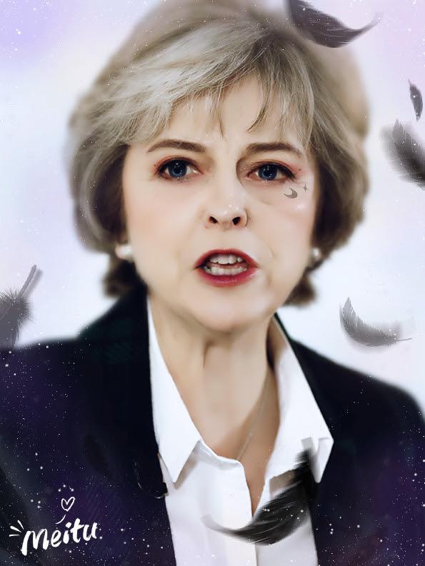 Meitu Theresa May