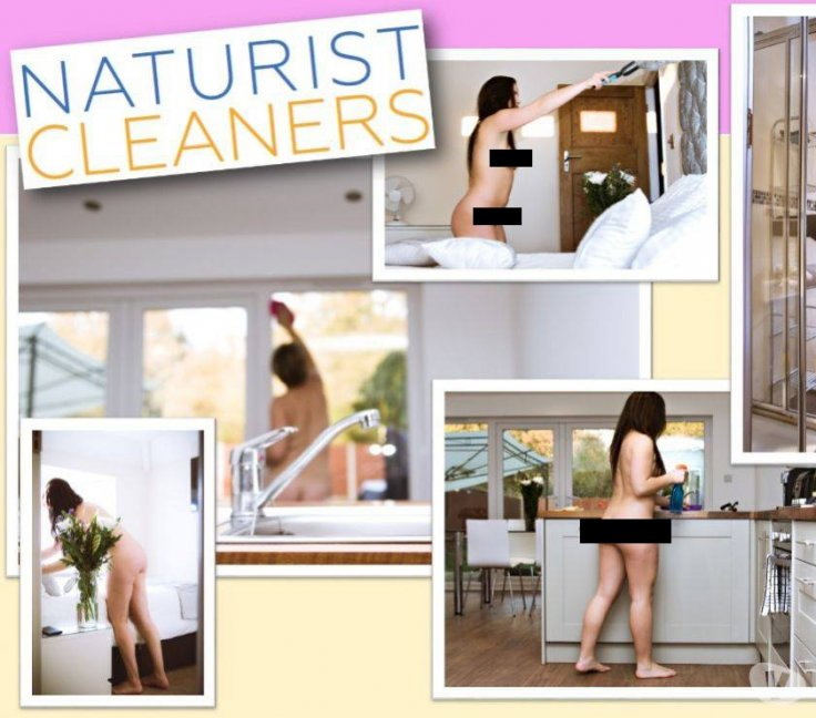 Nudist cleaning