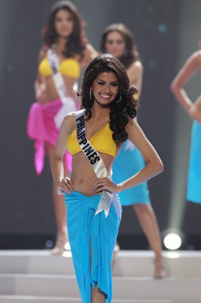 Miss Philippines Shamcey Supsup