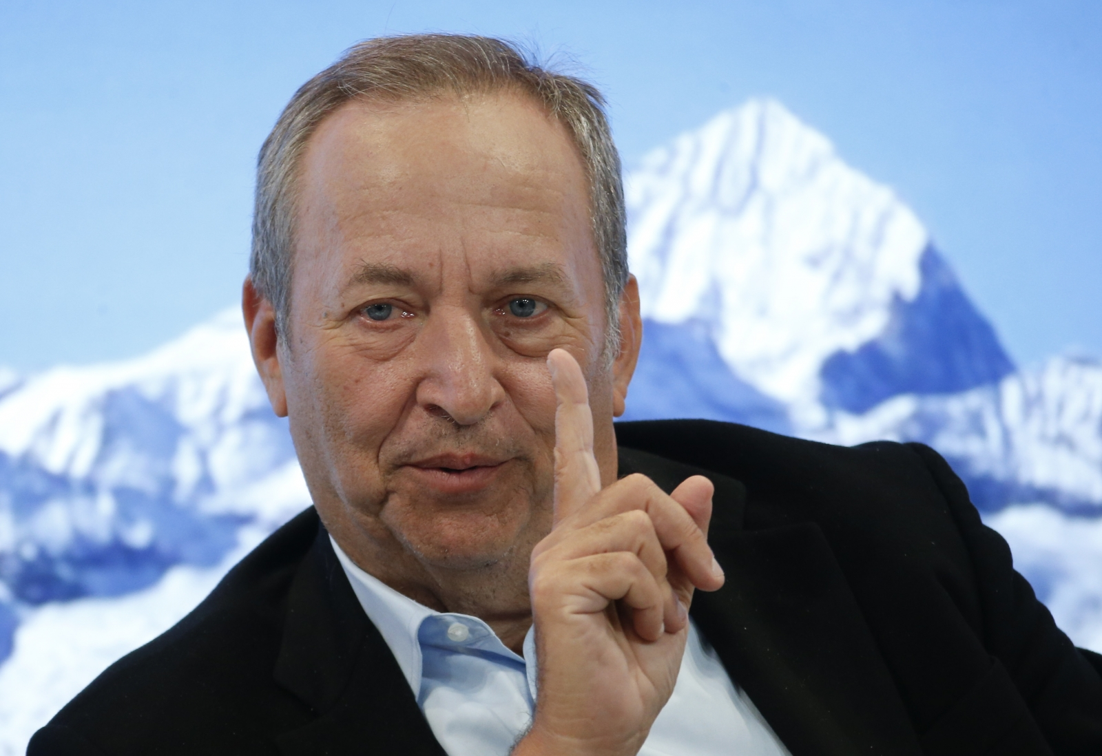 Lawrence Summers Davos 2017