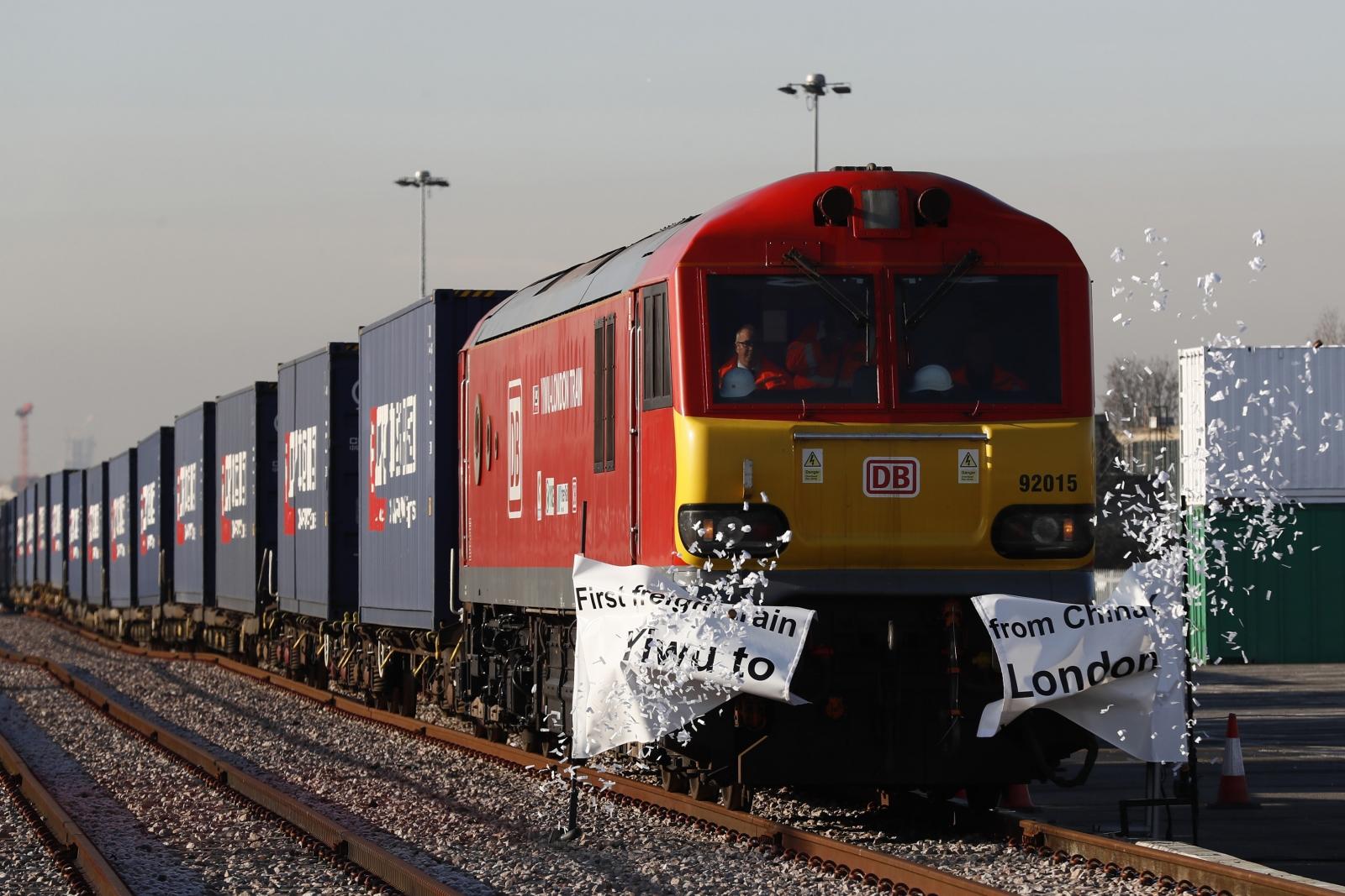 China-UK train silk road