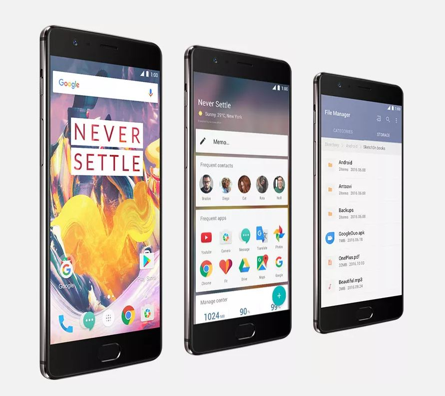OxygenOS 4.0.2 for OnePlus 3T, OnePlus3