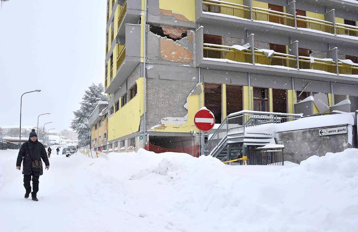 Amatrice snow