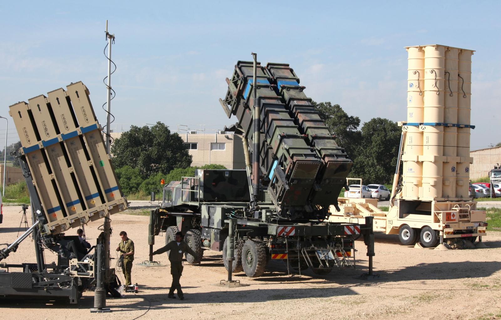 Israel ballistic missile interceptor