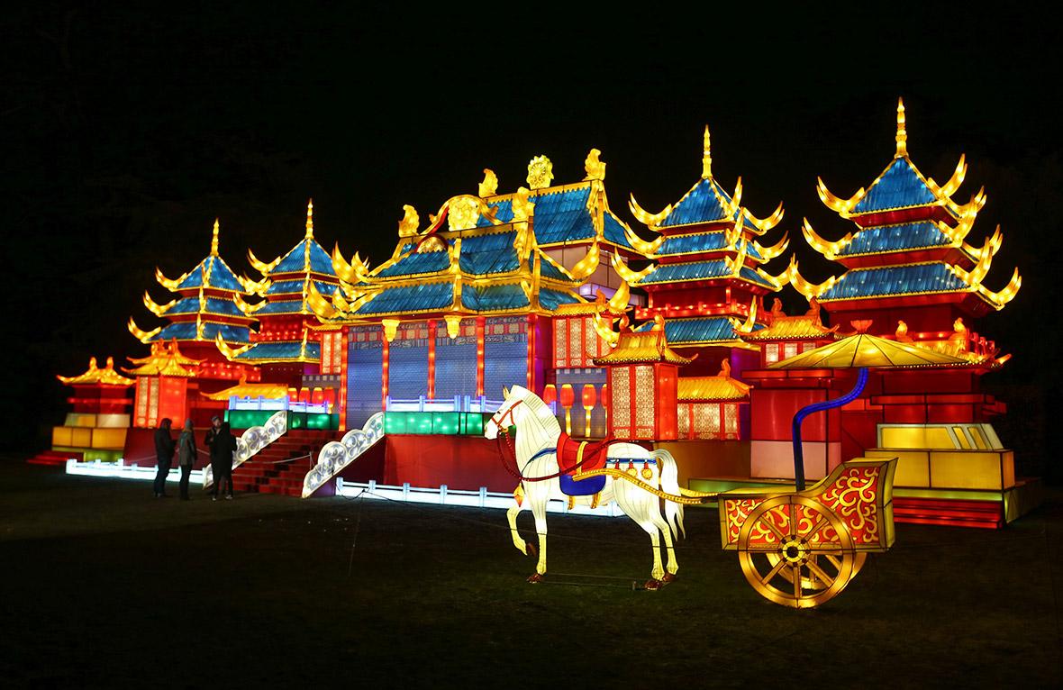 Chiswick House Magical Lantern Festival